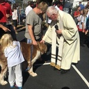 St. Mary's Schools hold first blessing of the animals